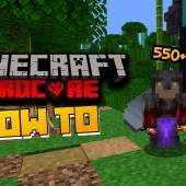 How to Survive 100 Days In Hardcore Minecraft