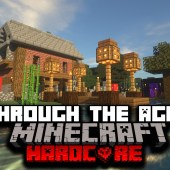I Survived Hardcore Minecraft, But It Updated Every Hour… Here's What Happened