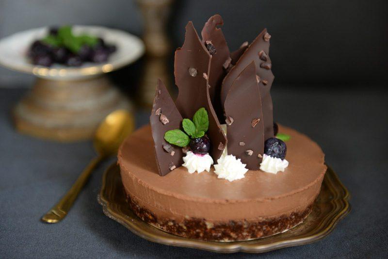 עוגת מוס שוקולד פליאו