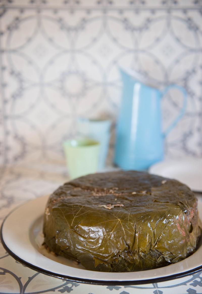 עוגת עלי גפן