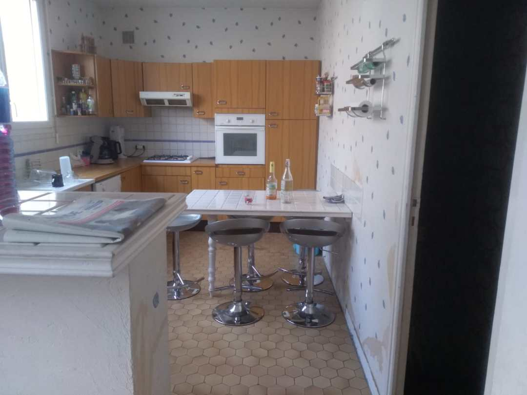 cuisine avant rénovation