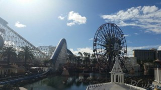 View of Paradise Pier from Cove Bar