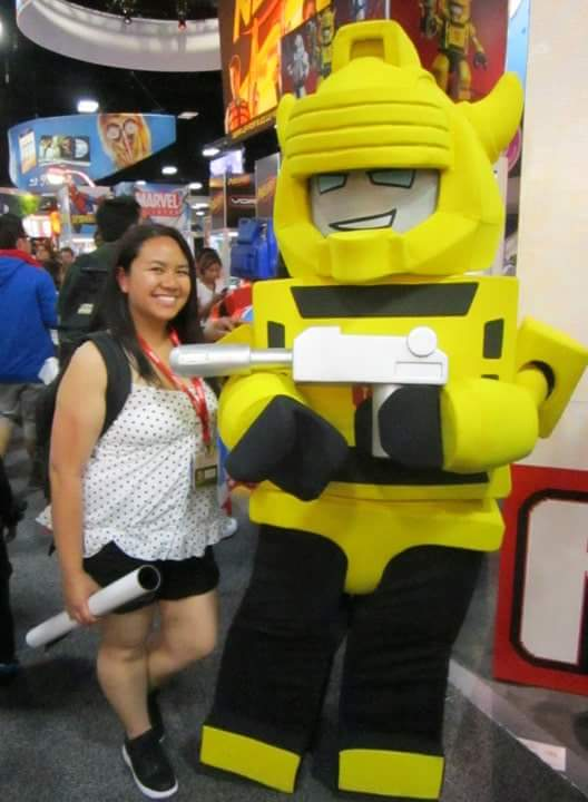 Me with Kre-O Bumblebee