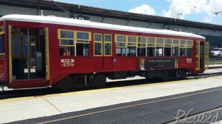 The streetcar we rode