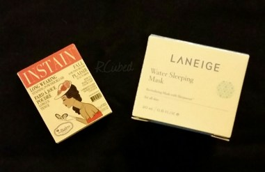 Blush from the Balm in Swiss Dot and Water Sleeping Mask from Laneige