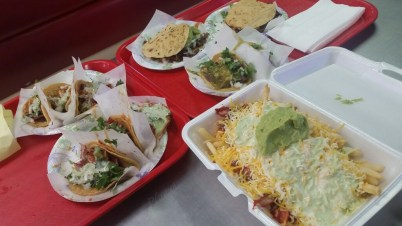 Round 2 with adobada fries.