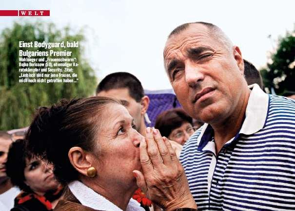 Bulgariens neuer Premier Bojko Borissow