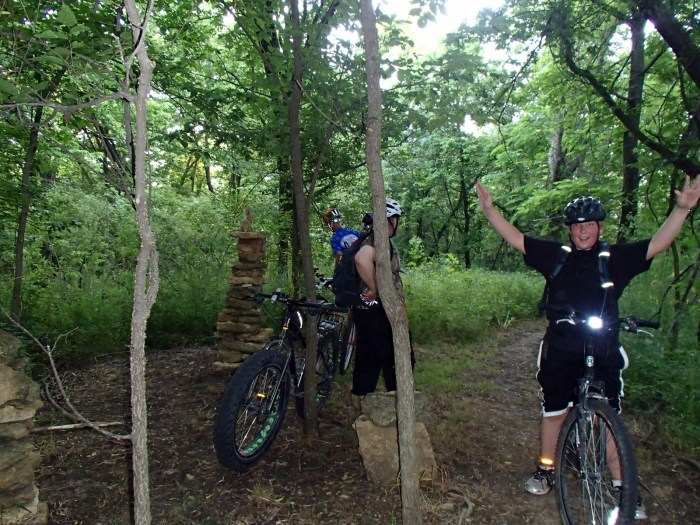 Get Your Grin On - Lehigh Portland Trails 2015-06-10
