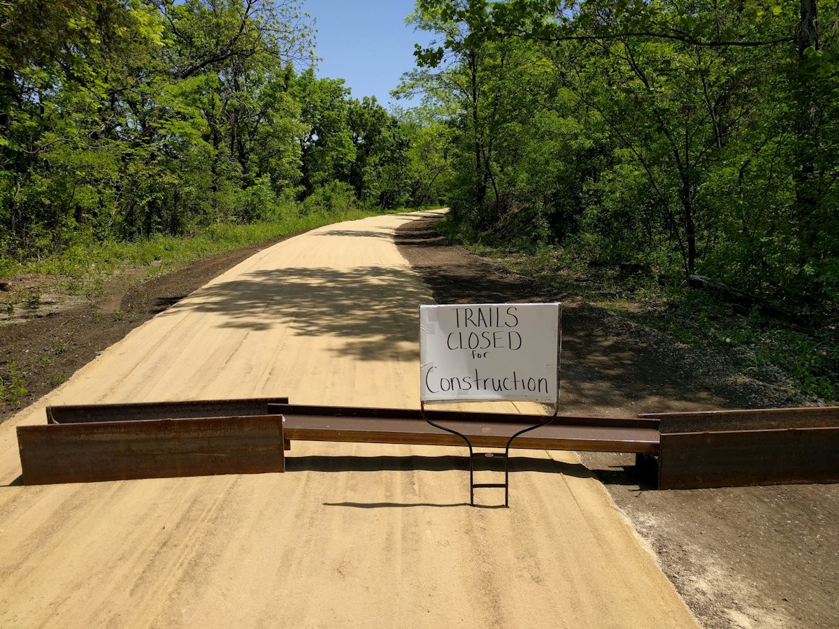 Lehigh Portland Trails No Longer Closed
