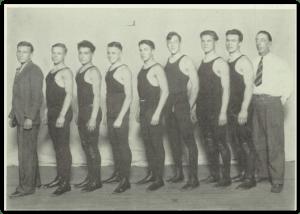 1928 Bethlehem Wrestling Squad (Courtesy of Bethlehem H.S. Yearbook)
