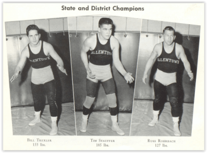 Allentown Champs (Photo Courtesy of Allentown H.S. Yearbook)