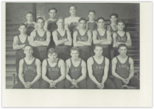 1947 Allentown Canaries - Photo Courtesy of Allentown H.S. Yearbook
