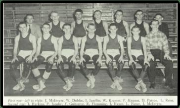 1953 Bethlehem Wrestling Squad (Photo Courtesy of Bethlehem H.S. Yearbook)