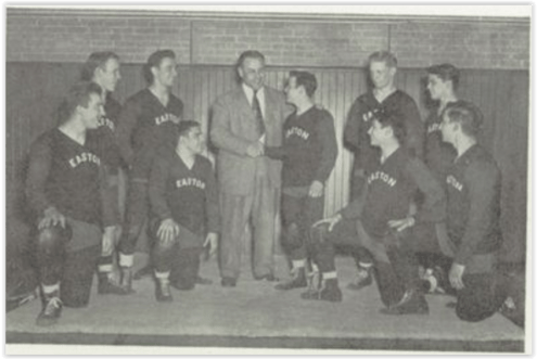 1949 Easton Red Rovers (Photo Courtesy of Easton H.S. Yearbook)
