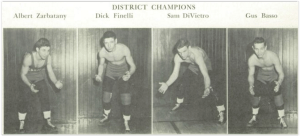 Easton 1952 District Champs (Photo Courtesy of Easton H.S. Yearbook)