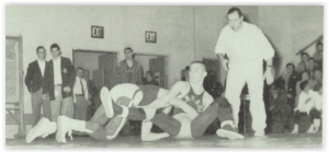 Emmaus Hosted the 1959 Districts (Photo Courtesy of Emmaus H.S. Yearbook)