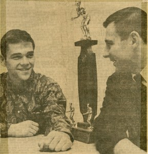 1968 State Champ, Dan Newhard - 180 (Photo Courtesy of Allentown Evening Chronicle)