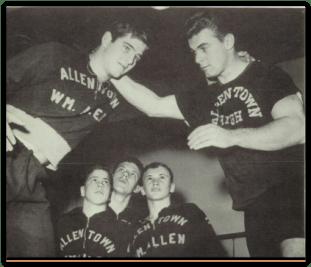 Allen Coach Dick Baker (Photo Courtesy of Allen H.S. Yearbook)
