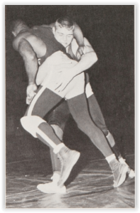 Bethlehem's Ernie Schoenberger would go on to Capture a District Title (Photo Courtesy of Bethlehem H.S. Yearbook)
