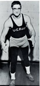 Jon Rushatz Pinned His Way to States, but Was Upset by Jack Breon (Photo Courtesy of Dieruff H.S. Yearbook)