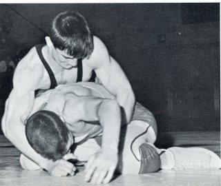 Jon Rushatz Works on Top (Photo Courtesy of Dieruff H.S. Yearbook)