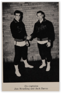 Hellertown Captains Stradling & Davco (Photo Courtesy of Hellertown H.S. Yearbook)
