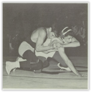 Tough Notre Dame Lightweight, Bruce Danyluk (Photo Courtesy of Notre Dame H.S. Yearbook)