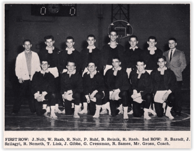 Southern Lehigh Wrestled Some Competitive Bouts (Photo Courtesy of Southern Lehigh H.S. Yearbook)