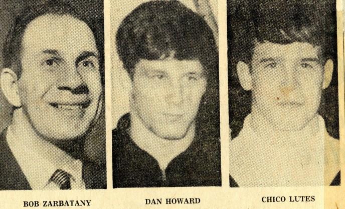 Bob Zarbatany, Dan Howard, Chico Lutes