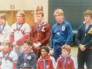 District XI AAA Wrestling Champs 1984