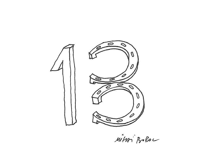 13 i cu noroc