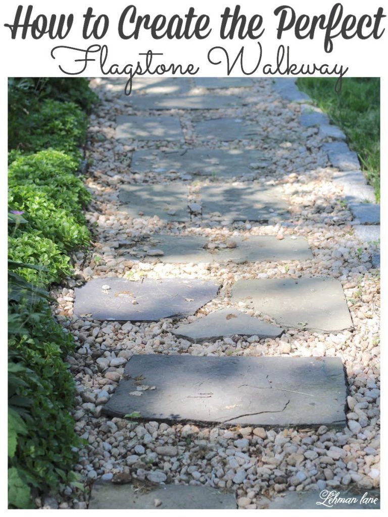 flagstone walkway diy
