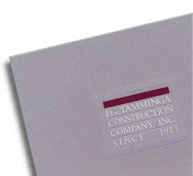 Brochure for Tamminga Construction, Denver