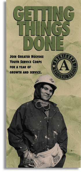 Brochure for Americorps