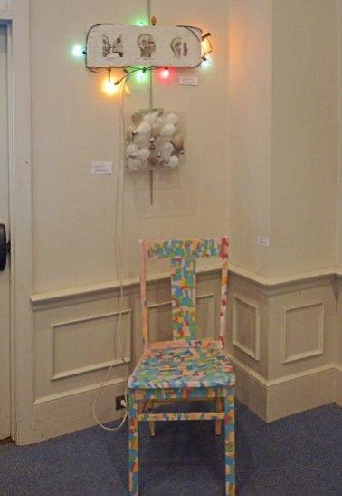 Her 'Confetti Chair'