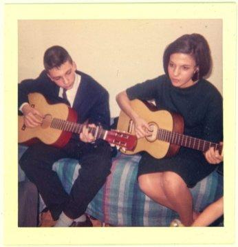 She taught me guitar.
