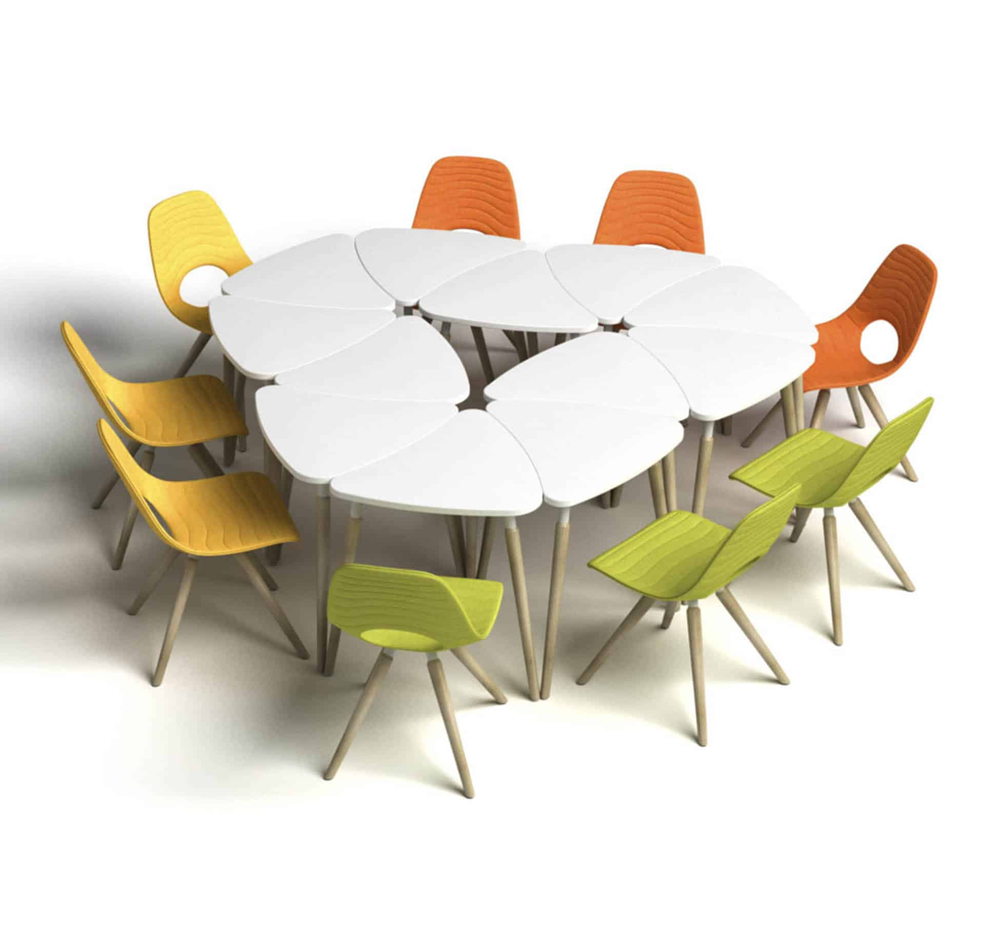 table de reunion modulable le hq tours