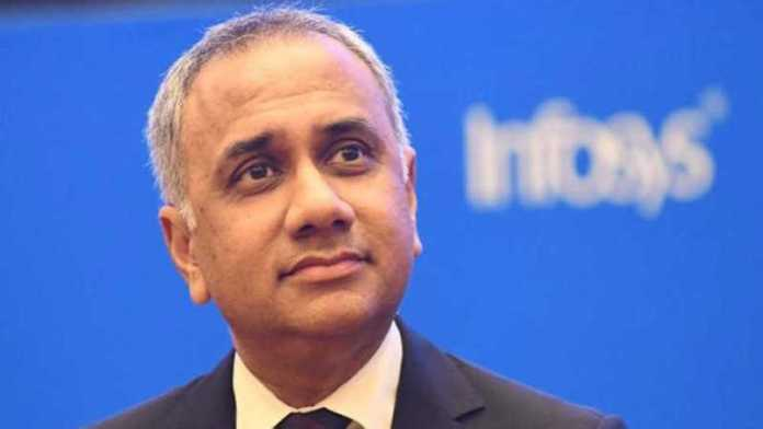 Infosys CEO Salil Parekh's compensation rises 27% to ₹46 crore