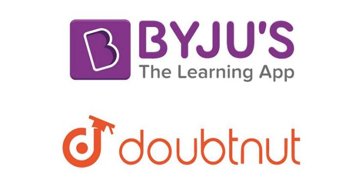 Ed-tech Unicorn BYJU'S in talks to buy e-learning app Doubtnut at $125M valuation