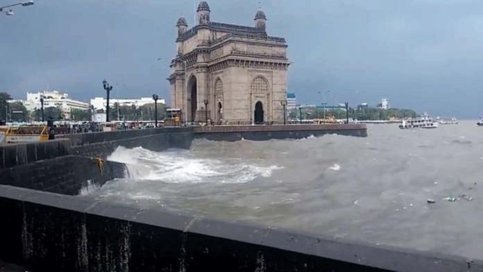 IMD issues red alert in Mumbai as heavy rainfall continues
