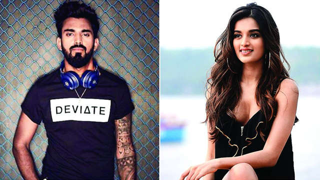 Nidhhi Agerwal clears the air of her dating KL Rahul