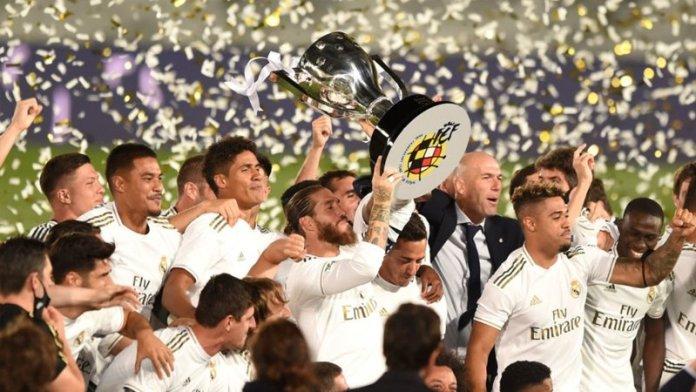 Real Madrid clinch record-extending 34th La Liga championship title