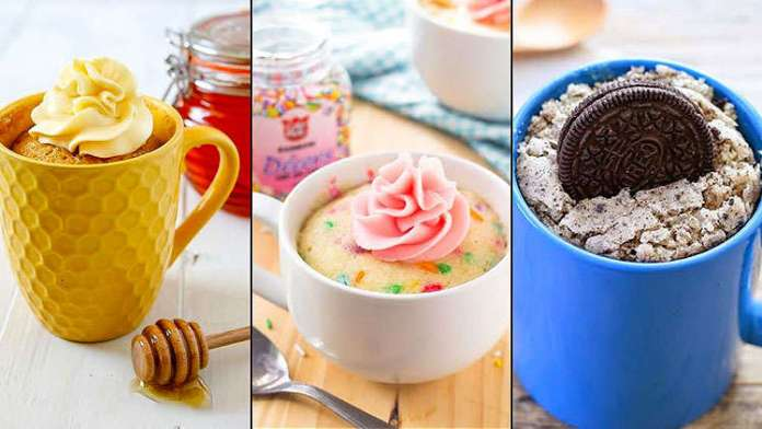 5 Easy mug cakes recipes to curb your cake-cravings