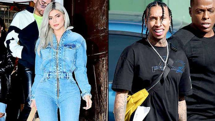 Kylie Jenner denies spending time with ex boyfriend Tyga amid split with Travis Scott