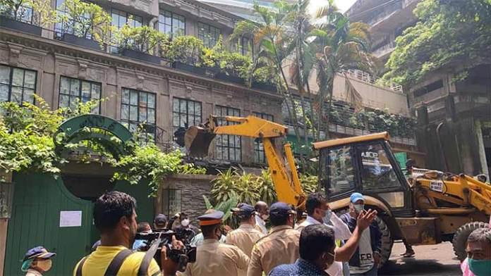 BMC's demolition of Kangana Ranaut's office