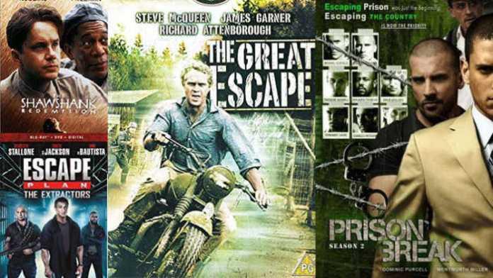 Top Prison Escape Movies and Shows