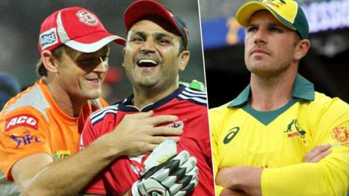 Aaron Finch picks Sehwag, Gilchrist as openers in his Ind-Aus combined ODI XI