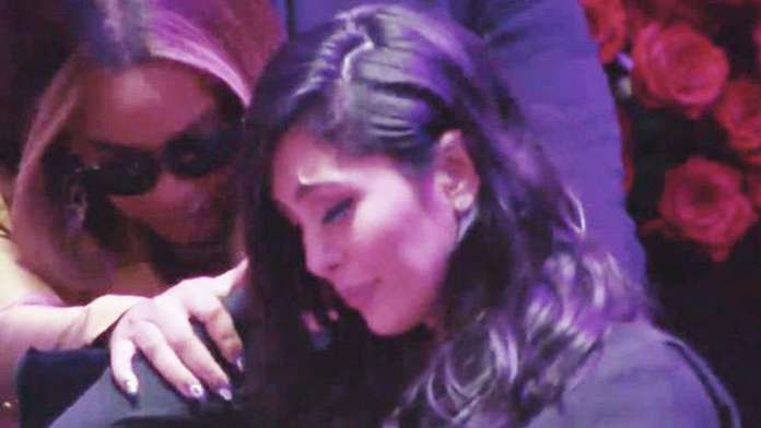 Beyoncé CONSOLES Vanessa Bryant during Kobe & Gigi Memorial