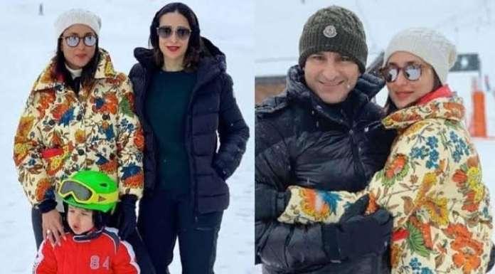 Inside Karishma Kapoor, Kareena Kapoor and Saif Ali Khan's vacation