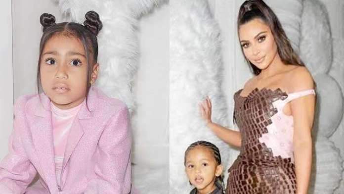 Kim Kardashian Reveals Daughter North West Had The Stomach Flu On Christmas Eve!